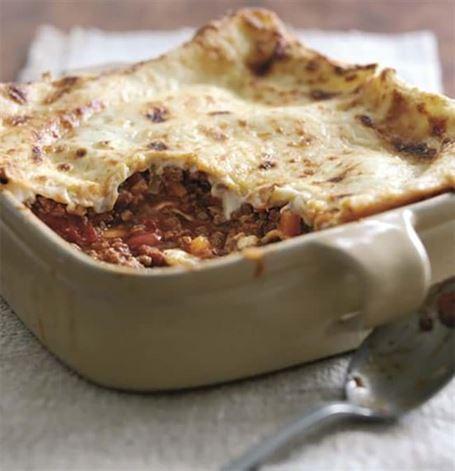 bovino receitas lasagna
