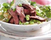 bovino receitas salada bife